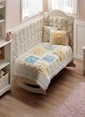 TAÇ Bebek Ranforce Uyku Seti Sarı